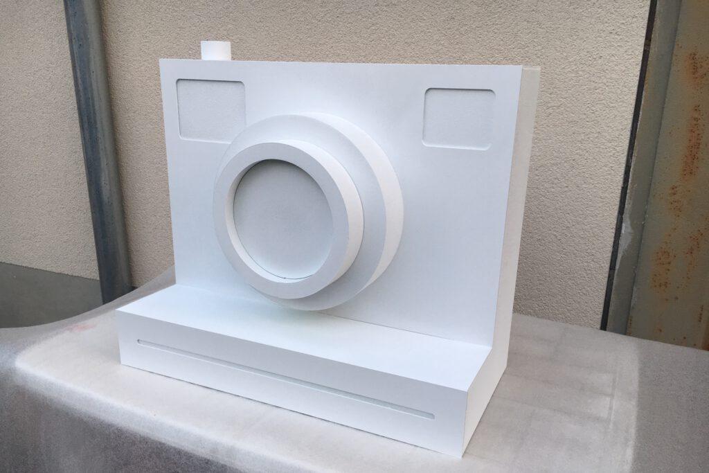 Produktdummy eines Fotoapparats