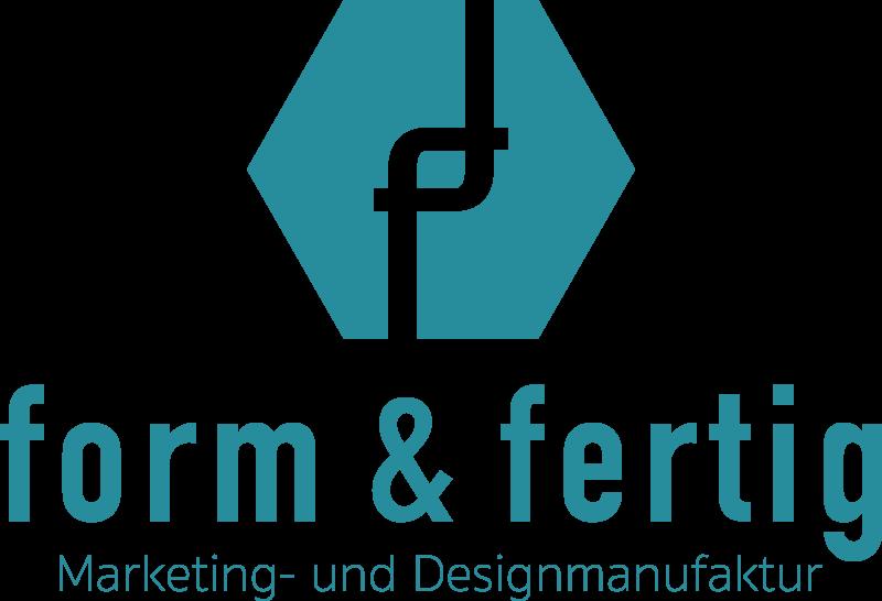 form & fertig Logo mittig