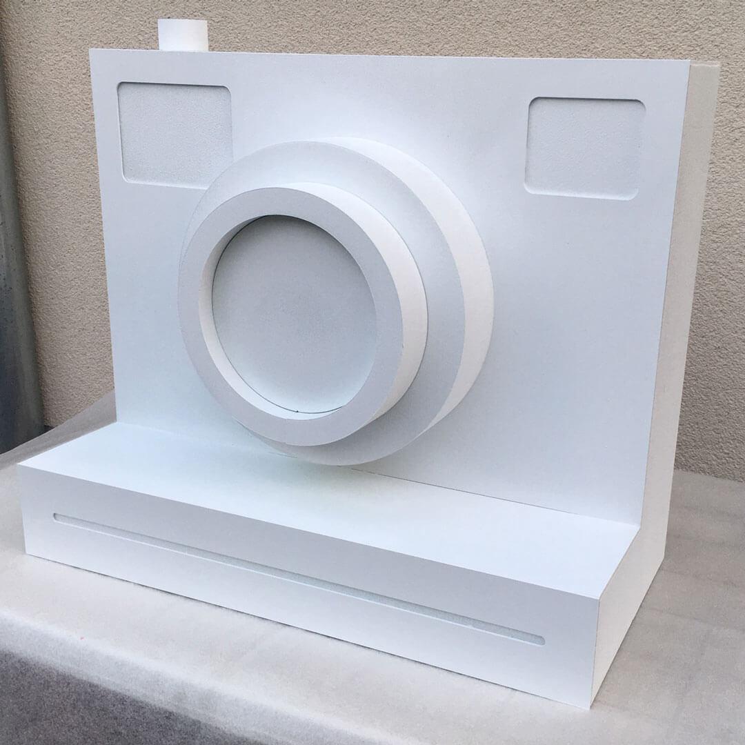 3D-Modell für das Schaufenster